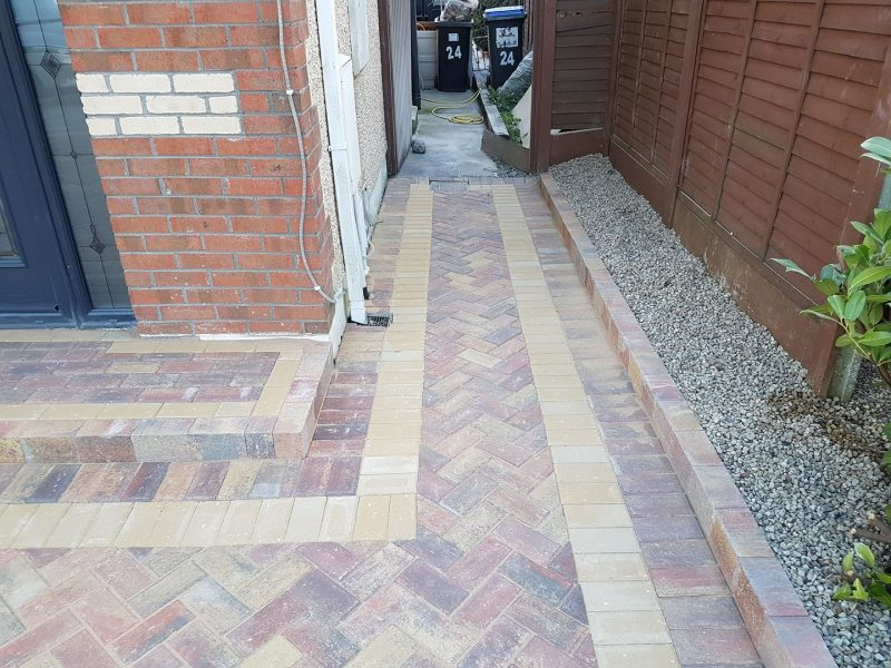Block Paving With Step