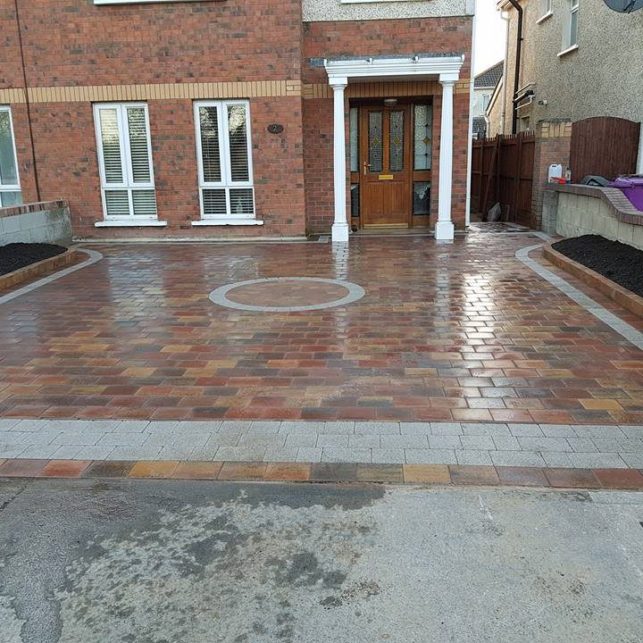 New Block Paving on Driveway