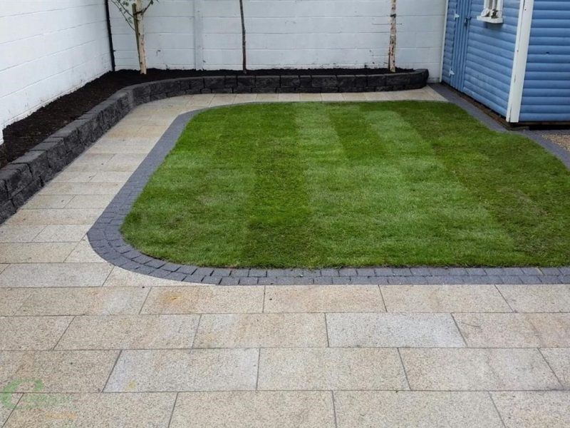 New Patio Laying in Meath